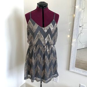 Bailey Blue sequin dress